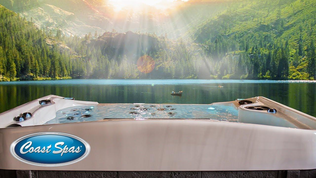Coast Spas® Cascade Infinity Edge Hot Tubs