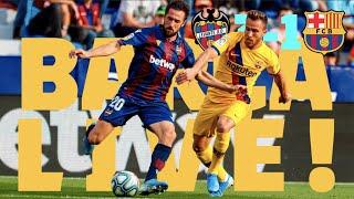 видео: Levante 3 - 1 Barca | BARCA LIVE | Warm up & Match Center