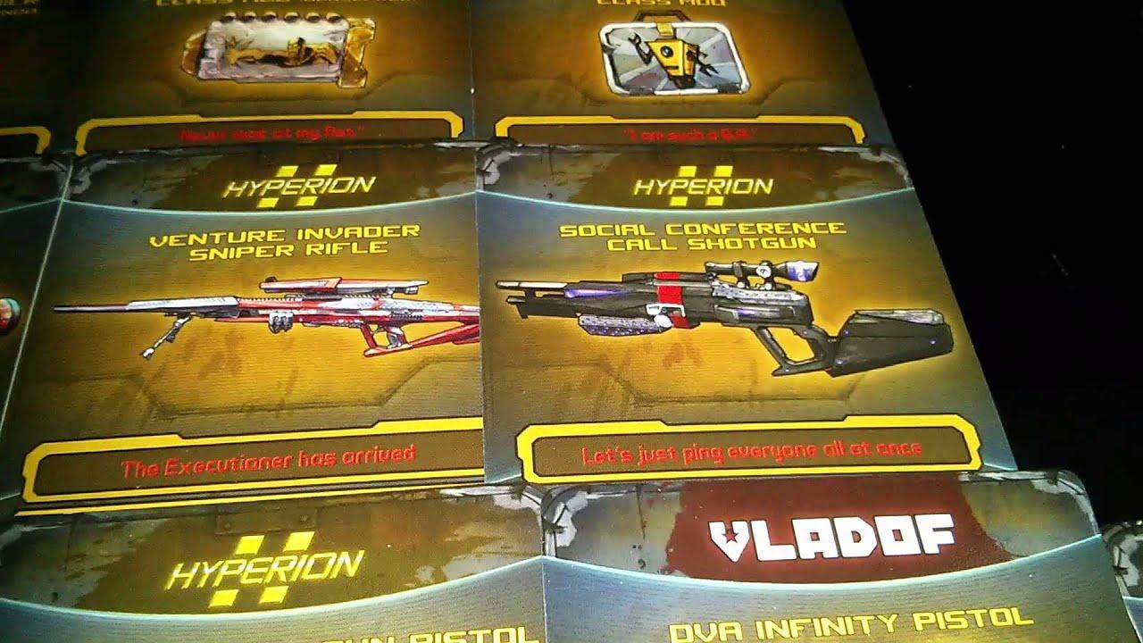 *OVER* Borderlands 2 - 50 Legendary Shift Codes Giveaway ... Borderlands 2 Weapon Codes