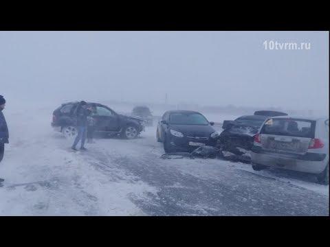 Массовые ДТП в Мордовии