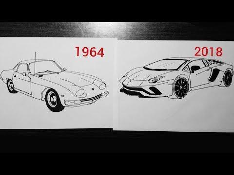 How To Draw A Lamborghini Myhiton