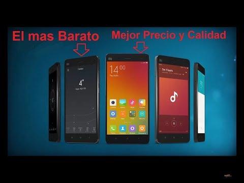 MOVILES DE GAMA ALTA MAS BARATOS 2018  SMARTPHONES ECONOMICOS