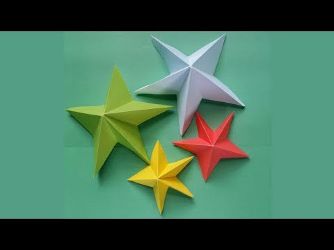 DIY: Paper Crafts Ideas!!! How to Make Easy & Simple Paper Star !!!