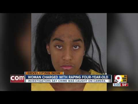 Investigators say they have video of Cincinnati woman raping 4-year-old