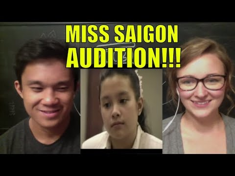Lea Salonga's Audition For Miss Saigon REACTION