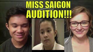 lea salongas audition for miss saigon reaction