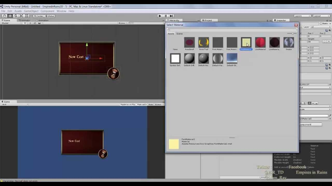 Unity3d UI Tutorials #1 - Panel and Button