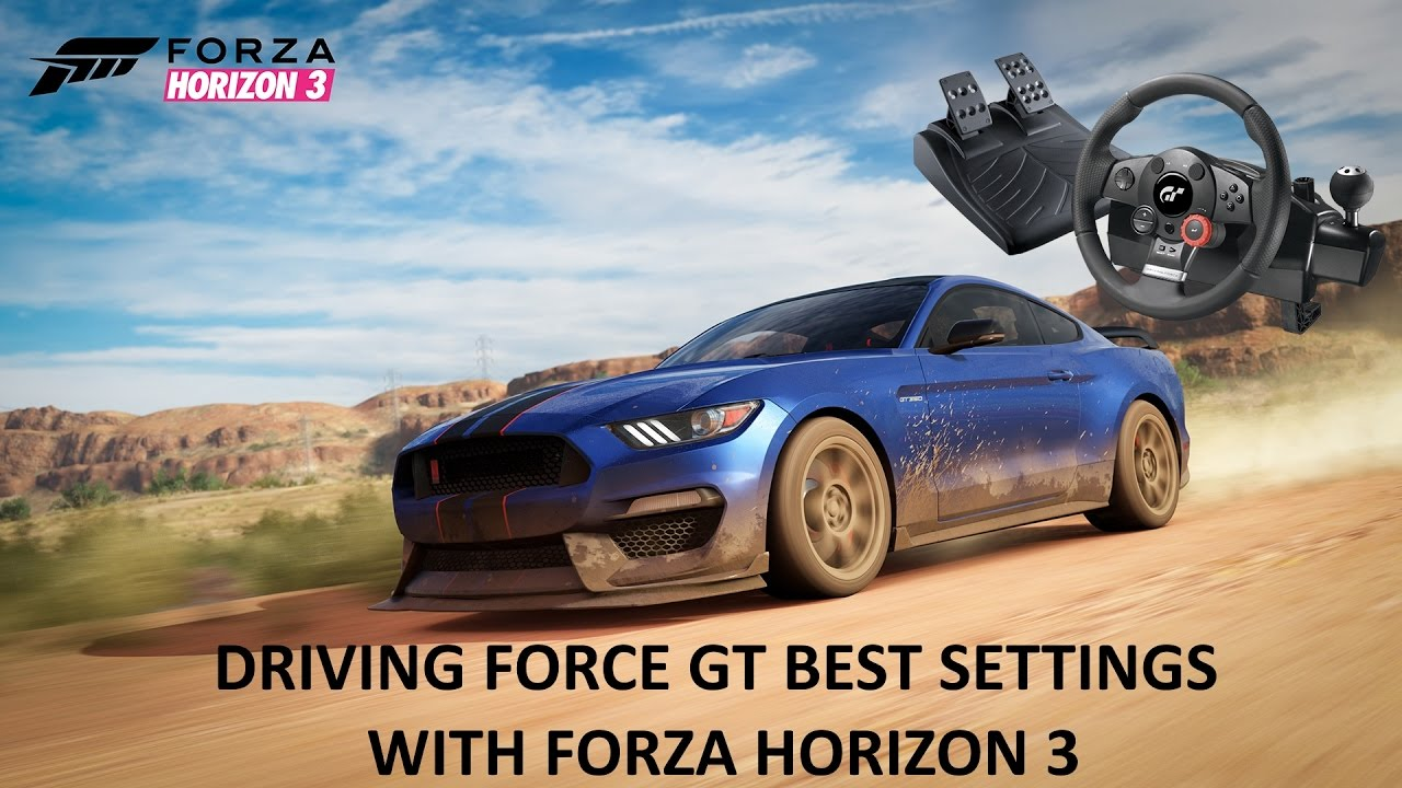 driving force gt best settings in forza horizon 3 youtube. Black Bedroom Furniture Sets. Home Design Ideas