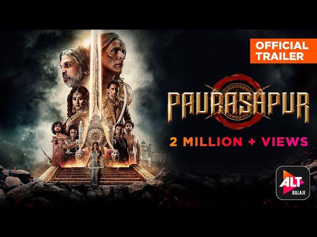 Paurashpur   Official Trailer   Starring Shilpa Shinde, Annu Kapoor, Milind Soman   ALTBalaji