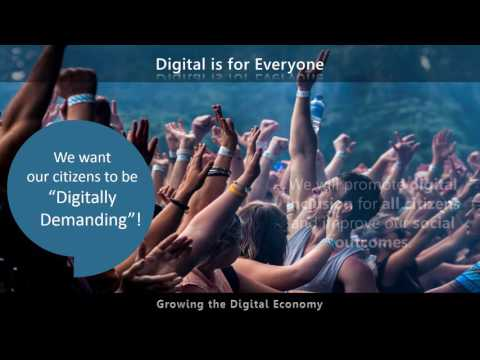 ACT Government Digital Strategy in 5 minutes