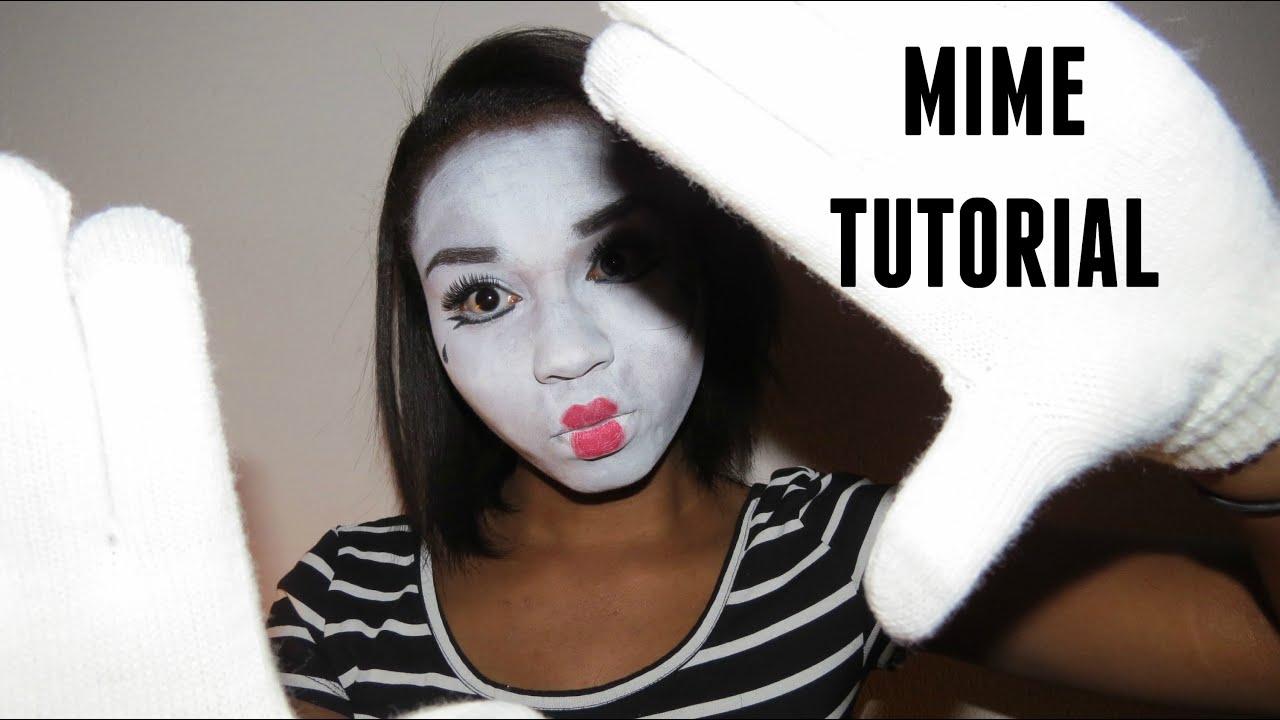 how to make mime makeup