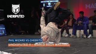 Phil Wizard vs Issei | ROUND ROBIN | UNDISPUTED V B Boy Masters