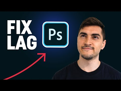 How to FIX LAG with Photoshop 2021