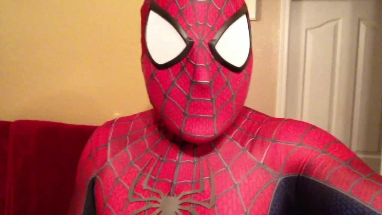 & My Spiderman replica suit / costume is AMAZING!! (Spidey4FUN) - YouTube
