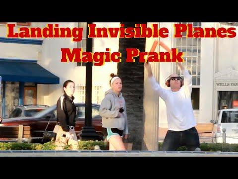 Landing Invisible Planes in Public!