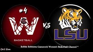 #4 Gamecock Women's Basketball vs. LSU (1/24/21) - 13th Full Game of the SC WBB 2020-21 Season. (HD)