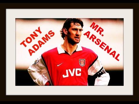 Tony Adams, Mr Arsenal!