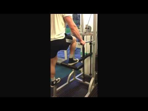 Alternative single leg press