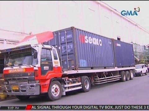 24 Oras: 105 container ng ceramic tiles, naipuslit palabas ng Manila Port kahit may alert order