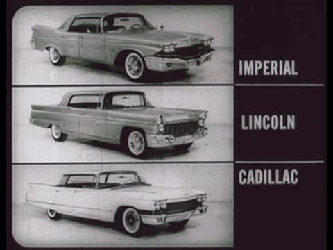 1960 Imperial vs Cadillac and Lincoln  Dealer Promo Film  YouTube