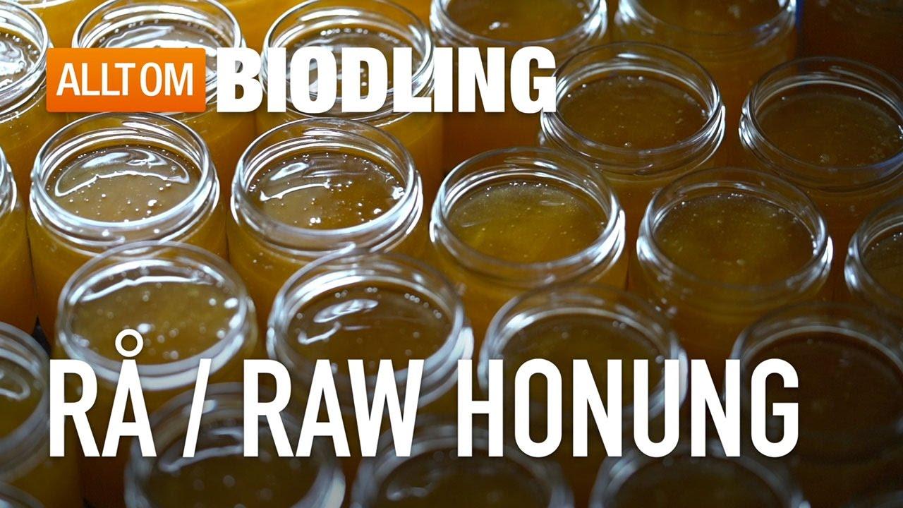 vad är rå honung