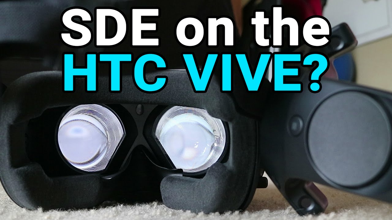 How goodbad is the Screen Door Effect on the HTC Vive?