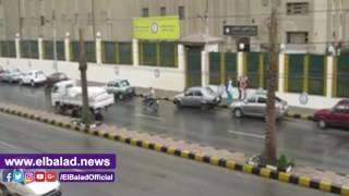هطول أمطار غزيرة على بني سويف.. فيديو وصور
