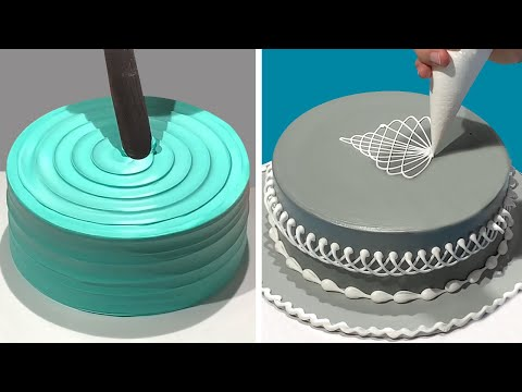 Stunning Cake Decorating Technique Like a Pro | Most Satisfying Chocolate Cake Decorating Ideas