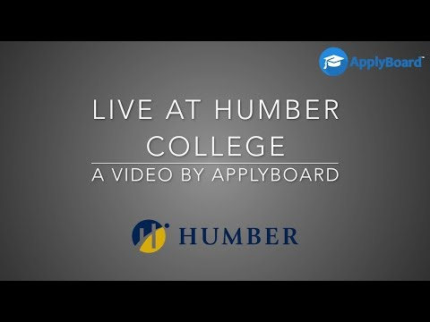 We are live at Humber College - Video 1