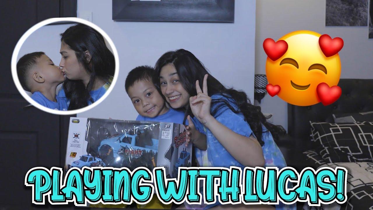 PLAYING WITH LUCAS! (ANG TALINO SOBRA) | ZEINAB HARAKE
