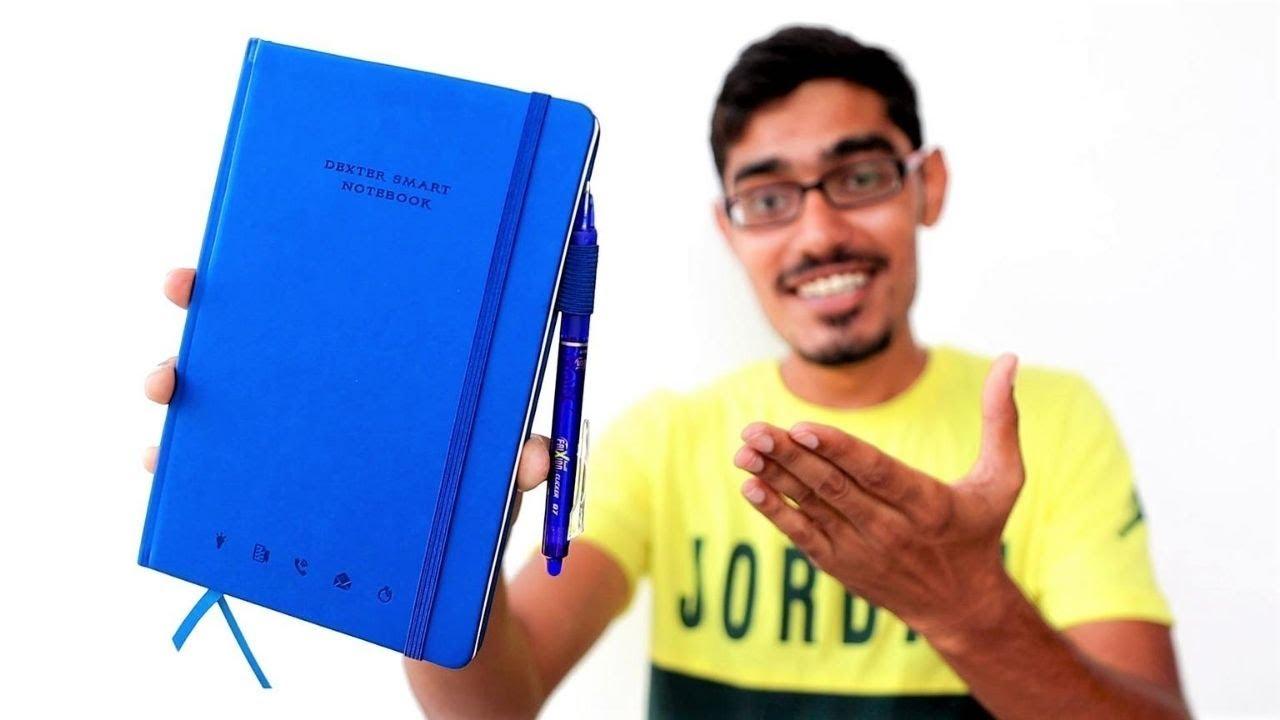 Erasable & Reusable Notebook   पेन से लिखा हुआ भी मिटाओ   Unboxing & Giveaway