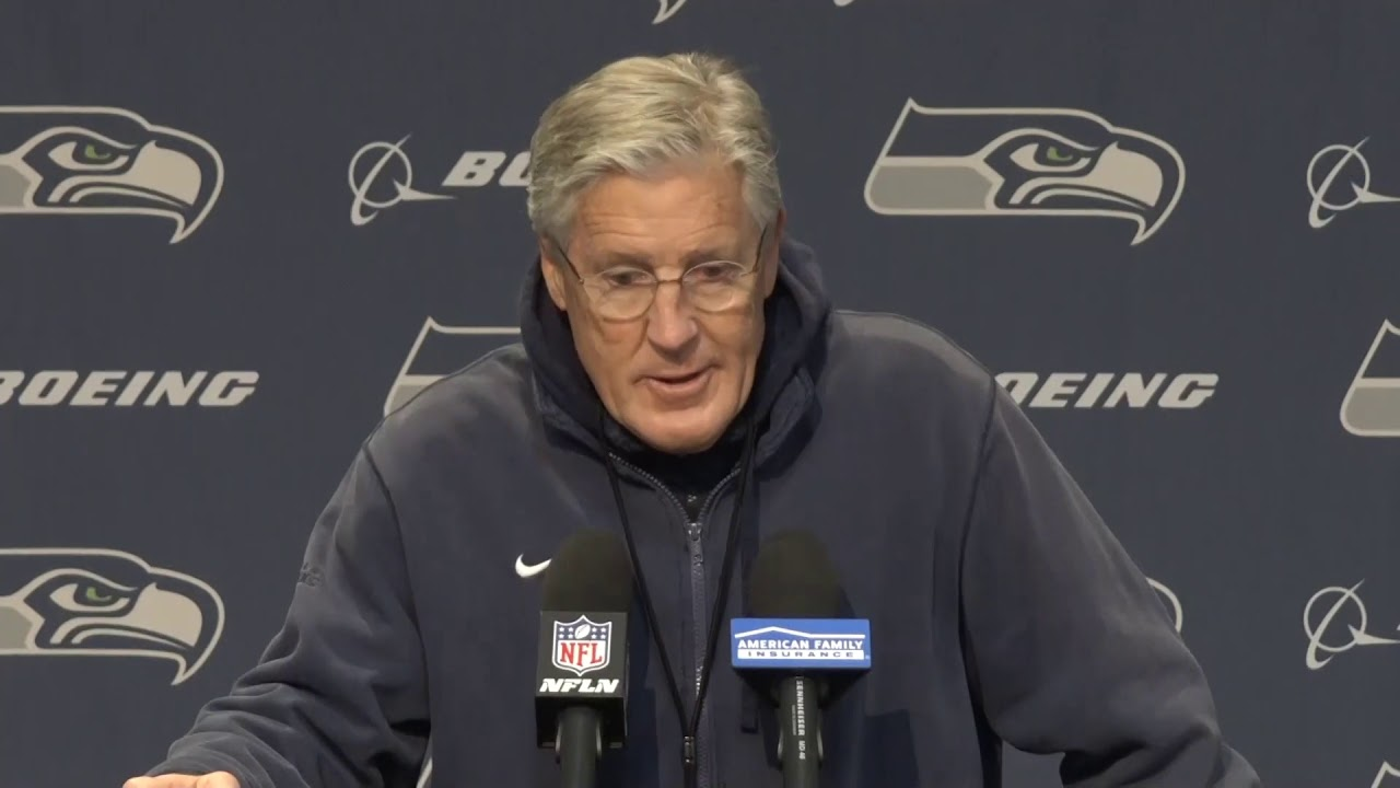 Pete Carroll on Lynch Being Back 2019-12-26