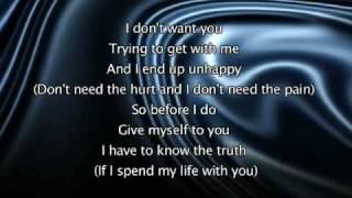 Repeat youtube video Jennifer Lopez - If You Had My Love, Lyrics In Video