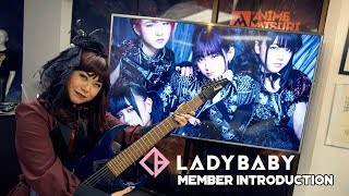 Justice introduces each member of the kawaii metal band, Ladybaby L...