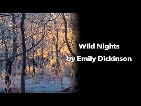 Wild Nights by Emily Dickinson