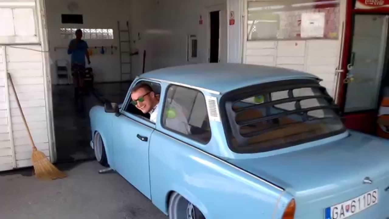 trabant parking garage