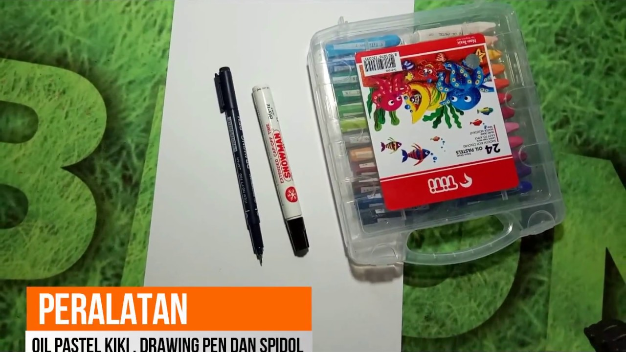 Easy Drawing For Kids Menggambar Pakaian Adat Jawa Youtube