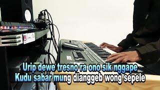 Karaoke Wong Sepele Ndarboy Genk Dangdut Koplo Tanpa Vokal Cover Keyboard