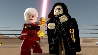 LEGO Star Wars: The Force Awakens - Emperor & Chancellor Palpatine Gameplay