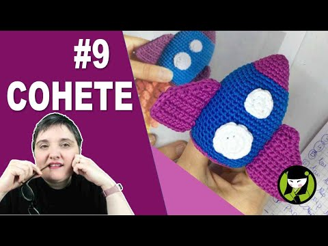 Cohete Amigurumi 9 final