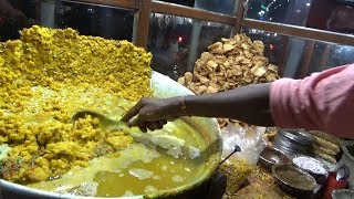 Super Fast Man Selling Spicy Chaat - 20 rs Per Plate - Indian Street Food Agartala