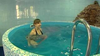 упражнения в бассейне для беременных видео