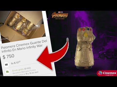Empiezan a Vender la Palomera de Cinemex en Mercado Libre / Avengers Infinity War