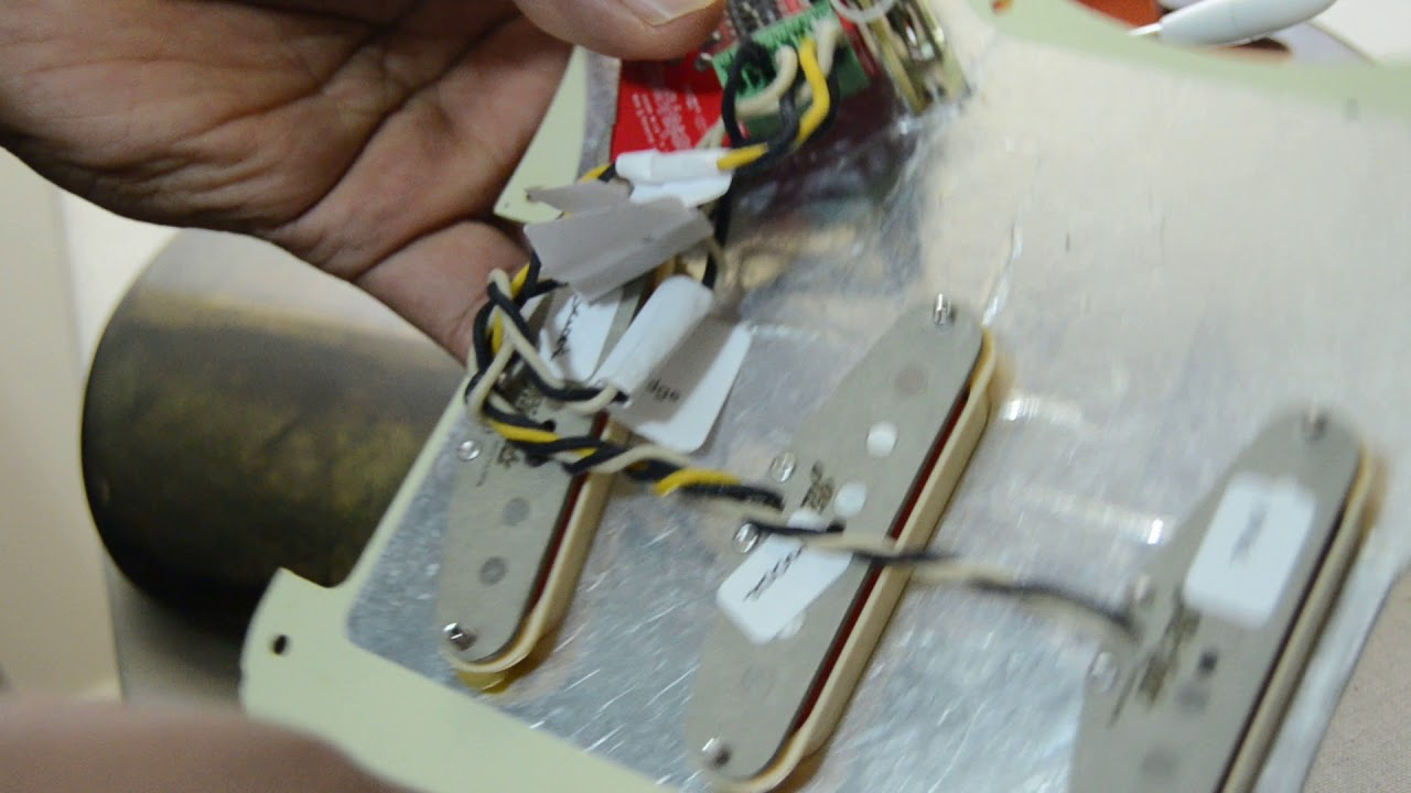 Changing Strat Pickups Without Soldering With Toneshaper Youtube Solder For Guitar Wiring