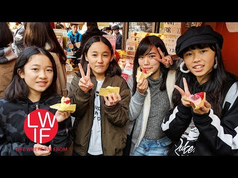 Eating Our Way Through Asakusa, Tokyo