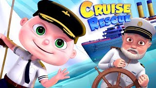 Zool Babies Series   Cruise Ship Rescue   Videogyan Kids Shows   Cartoon Animation For Children