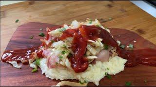 베이컨 감자요리 (bacon potato dish)