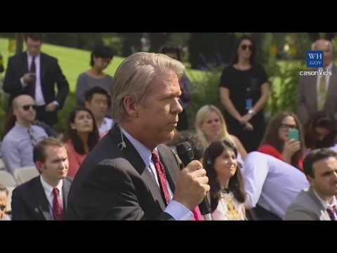 President Trump press conference on NFL Players, national anthem and Puerto Rico