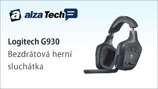 Logitech G930: Bezdrátová herní sluchátka! - AlzaTech #230