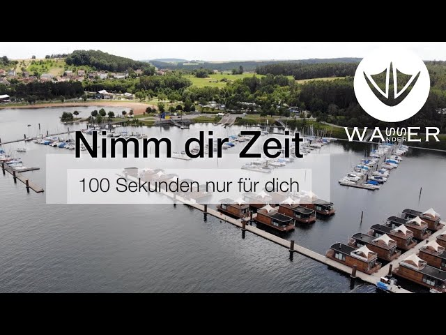 Zeit für Dich 003 - Segelhafen Ramsberg - 4K [Wasserwanderer - unter Segeln wandern]
